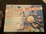 Gesellschaftsspiel Europa-Wissen - Was ist wo