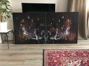 Bild Acryl auf Leinen 80x160cm