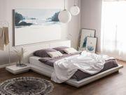 Bett weiß Lattenrost 180 x