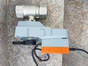 Regelkugelhahn 2-Wege mit Drehantrieb R2050-S4