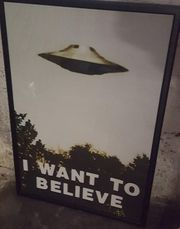 X-FILES Poster I want to
