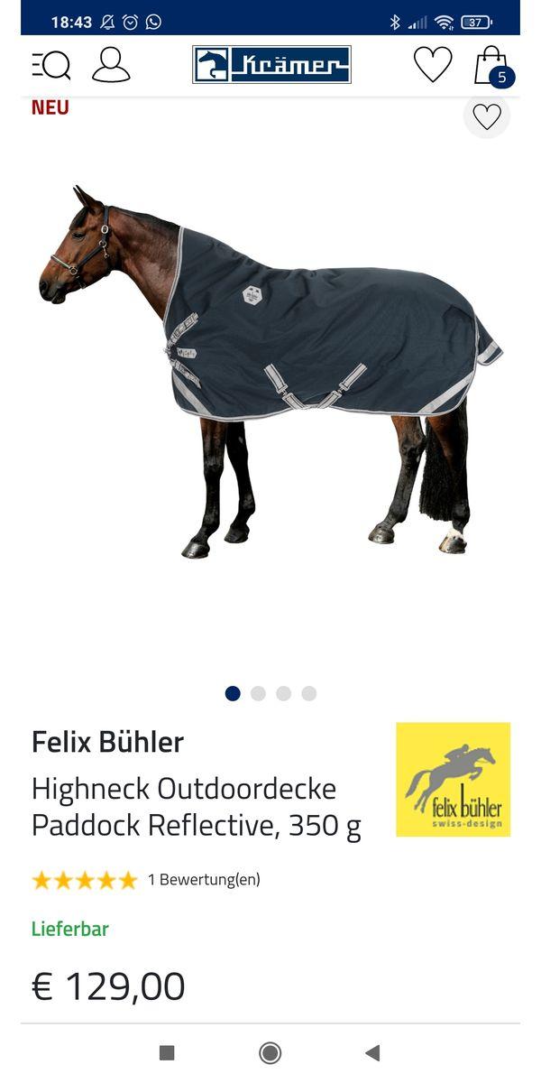 Felix Bühler Outdoor-Decke 350g highneck