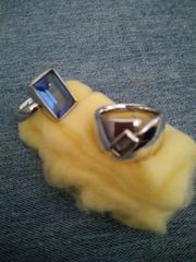 2 Silberne Ringe Pierre Lang