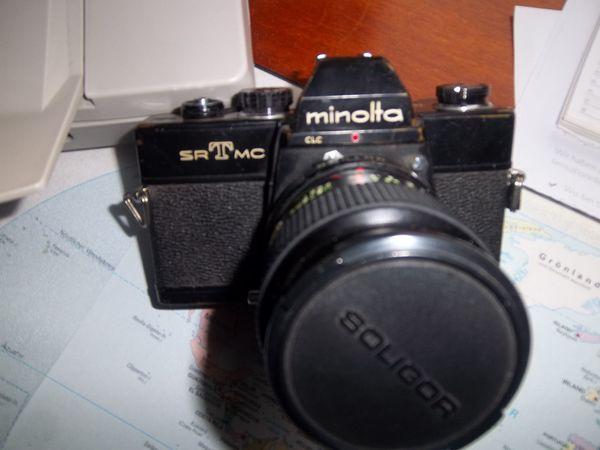 Minolta SRT Objektiv 70 - 120
