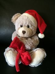 Hübscher Teddybär für Nikolaus Weihnachten
