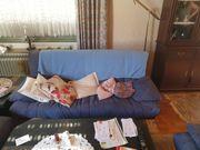 Couch drei und zweisitzer mit