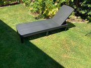 Sonnenlieg Gartenliege neuwertig mit Auflage