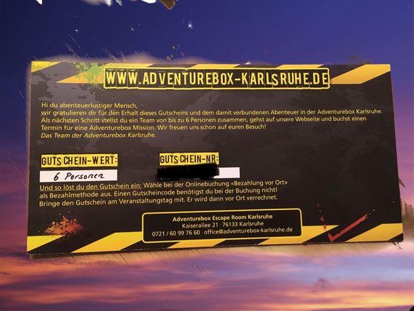 Gutschein für Adventurebox Karlsruhe - 6