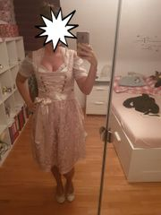 Neues Dirndl in Rose Gr
