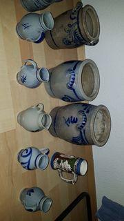 verschiedene Keramik Sachen