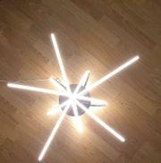 LED-Deckenleuchte chrom KHG