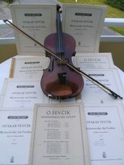 Notenhefte für Geigenschüler