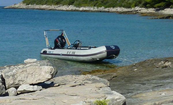 YAHAMA-Schauchboot 3 80 m mit