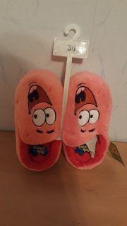 Neue Kinderhausschuhe Spongebob