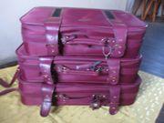 Leder Kofferset 3 teilig guter