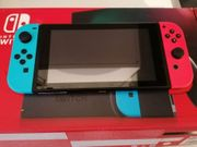 Nintendo Switch Neon Blue Red