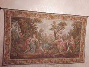 Großer französischer Gobelin Wandteppich Marke