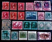 Alte Briefmarken Ganzsachen USA Deutsches
