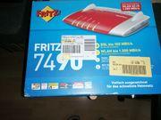 Verkaufe eine Fritzbox 7490