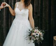 Hochzeitskleid Brautkleid Gr 38 in