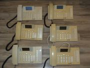 6 x Telefon elmeg funkwerk