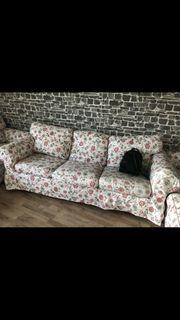 Ektorp 3er Couch mit wechselbezügen