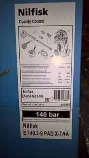 Nilfisk Hochruckreiniger E 140 nagelneu