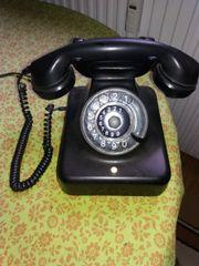 Telefon mit Wählscheibe