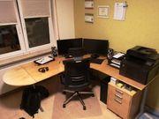 Schreibtisch in L Form 2x2m