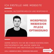 Website Webdesdign Homepage WordPress Webseite