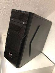 Gaming Computer Hohe Leistung schwarz