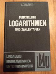 Fünfstellige Logarithmen und Zahlentafeln