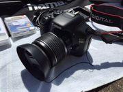 Canon EOS 550D mit viel