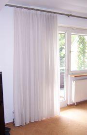 Gardinen 6x in weiß 240