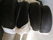 winter Reifen auf Alufelgen