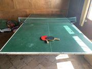 Tischtennis Platte mit Netz
