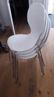 Stuhl mit Holz und Metall