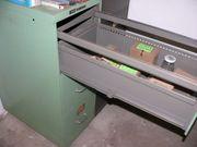2 Kardex Metallschrank Hängeregister 60er