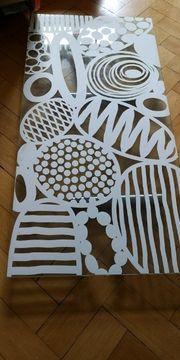 Dekorative Glas-Schreibtischplatte
