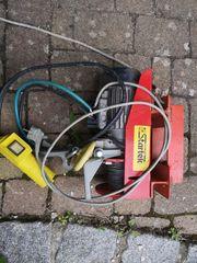 Elektrischen Flaschenzug 230 Volt siehe