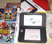 Nintendo 3DS XL Rot Schwarz