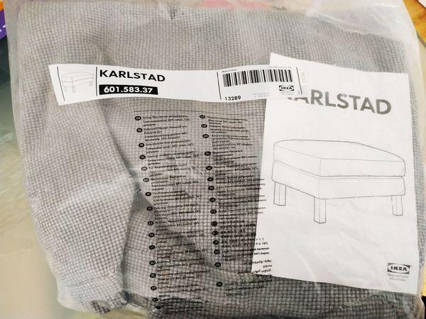 KARLSTAD BEZUG MITTELGRAU NEUER