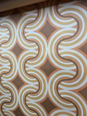 Vintage Retro Tapeten Original 50er60er70er