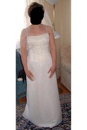wunderschoenes Brautkleid Gr 38 Farbe