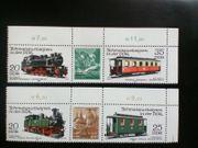 DDR Briefmarken Schmalspurbahnen