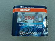 Osram NIGHT BREAKER PLUS H4
