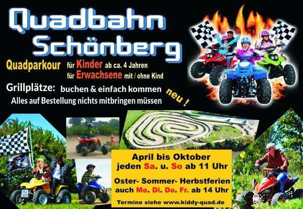 Familien-Quad-Bahn-Schönberg ein Freizeitspaß für Kinder