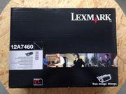 original Tonerpatrone Lexmark 12A7460