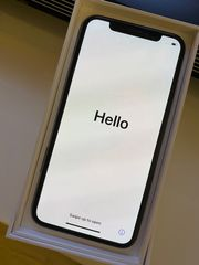 iPhone X 256 GB Silber