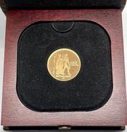 100 Dollar Goldmünze Kanada 1976